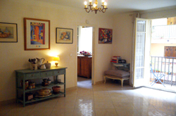 Lounge in Guigonis, vacation apartment, Nice France