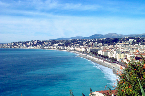 Bay of Angels, Nice France