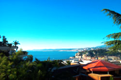 View from balcony, Lympia - Nice France