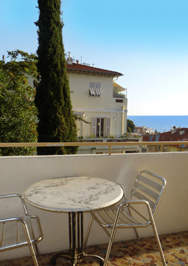 Le Panoramic Side Balcony, Nice France