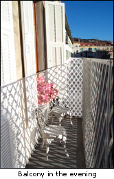 Papon balcony, Nice France